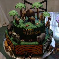 zoo themed birthday cake jungle zoo themed birthday cakes birthday cakes cake gallery