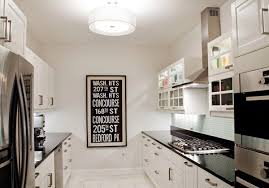 white kitchen cabinets in galley kitchen u2013 quicua com