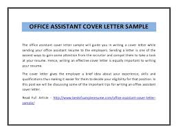 fresh how to write a cover letter for office assistant 81 for your