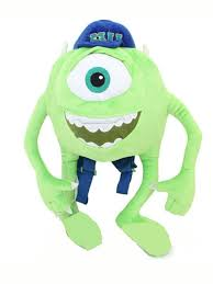 amazon monsters disney plush backpack 18