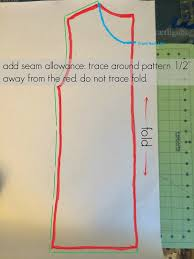 How To Make A Sewing Table by Make Your Own Clothes How To Make A Pattern Allfreesewing Com