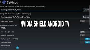 reicast apk reicast emulator settings configuration nvidia shield android