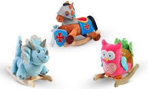 Toy Chair Custom Kids Rocking Chair Rockabye Groupon