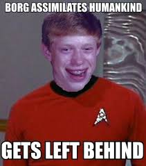 Red Shirt Star Trek Meme - bad luck redshirt