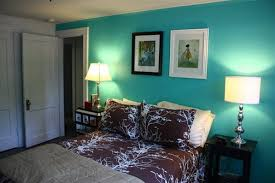 delightful tiffany blue paint color throughout living room accent