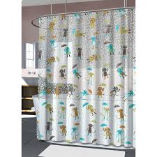 Vinyl Shower Curtain Raining Cats Dogs Vinyl Shower Curtain At Home At Home