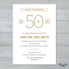 anniversary party invitation wedding anniversary party