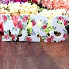 aliexpress com buy mr u0026 mrs wedding sign h8 x w35cm wedding