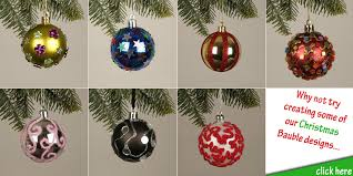 make your own baubles