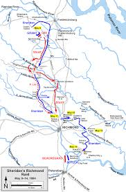 Map Of Stuart Florida by The Battle Of Yellow Tavern Civil War