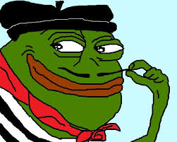 Pepes Memes - france s alt right has turned pepe the frog into pepe le pen the