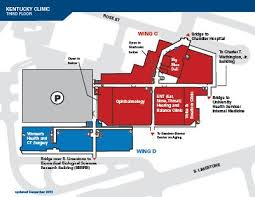 Physical Therapy Clinic Floor Plans Kentucky Clinic Maps Kentucky Clinic Uk Healthcare