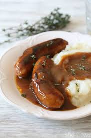 guinness gravy puts this bangers and mash recipe over the top