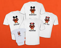 disney family thanksgiving vacation family t shirts disney