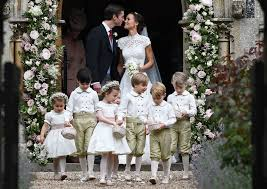 pippa middleton marries at almost royal event la times