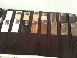 coulisse horizontal wood blinds