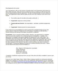 consultant offer letter templates 7 free word pdf format