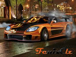 koenigsegg fast and furious 7 veilside rx 7 lady fortune by fenixclz013 on deviantart