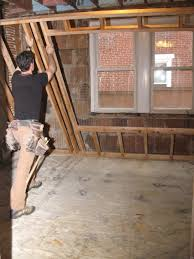 Spray Insulation For Basement Walls Wondrous Framing Basement Walls With Steel Studs Spectacular