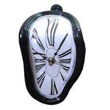 creative clocks 90 degree twisted wall clock creative black 90 degrees and products