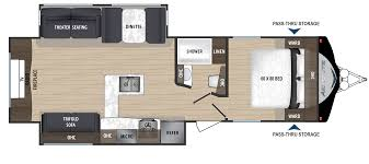 aerolite rv floorplans and pictures