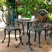small patio table with two chairs attractive small patio sets two furniture patio furniture small