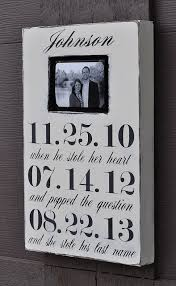 personalized bridal shower gifts photo frame custom wedding sign personalized engagement gift