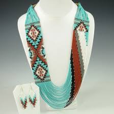 indian bead jewelry necklace images Navajo beaded necklace by rena charles hoel 39 s indian shop jpg