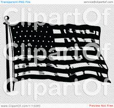 Black And White Us Flag Clipart Vintage Black And White Waving American Flag Royalty