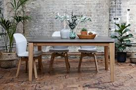 Oak Top Dining Table Pb2 Ceramic Extending Table By Aif