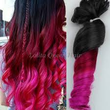 pink hair extensions shop mermaid ombre hair on wanelo