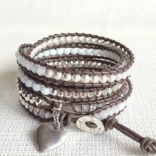 silver leather wrap bracelet images 405 best jewelry making chan luu inspired images jpg