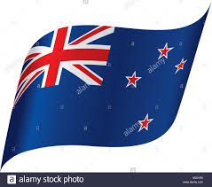 New Zealabd Flag New Zealand Flag Patriotic Stock Vector Images Alamy