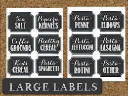 editable printable jar labels instant download pantry chalkboard labels printable pantry and