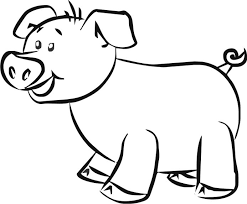 vector download pig art