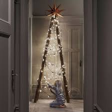 ladder christmas tree are ditching real trees for ladder christmas trees homecrux