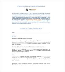 consulting contract template canada consulting agreement
