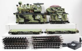 buy keystone locomotive 33002 g scale us army set ex box