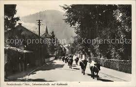 Ak Ansichtskarte Friedrichroda Blick Vom Herzogsweg Ak Ansichtskarte Friedrichroda Schweizerstrasse Mit Kuhherde