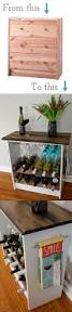 diy two toned wine rack ikeahack ikea hack wine rack and dresser