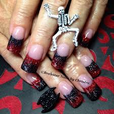 rockstar nails by christee acrylic acrylicnails nails