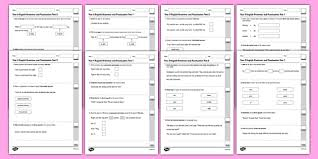 ks2 english grammar and punctuation practice test pack grammar