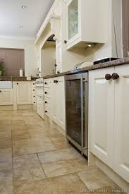 tile ideas for kitchen floor kitchen floor tile ideas with white cabinets and photos