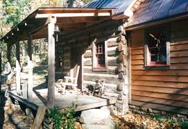 part five of building a rustic cabin handmade houses with