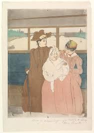 mary cassatt in the omnibus the met