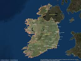 Dublin Ireland Map Ireland Satellite Maps Leaddog Consulting