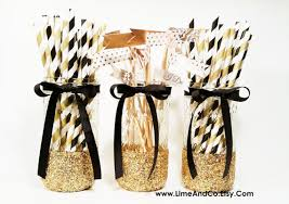 black and gold centerpieces graduation party decorations black and gold decor