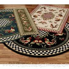 braided rooster rugs for kitchen kitchen