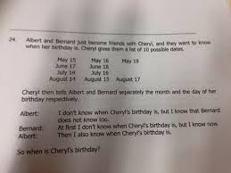 the maths problem that u0027s gone viral when the hell is cheryl u0027s