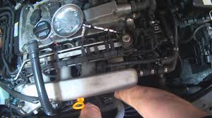 vw a4 1 8t pcv components removal for replacement youtube